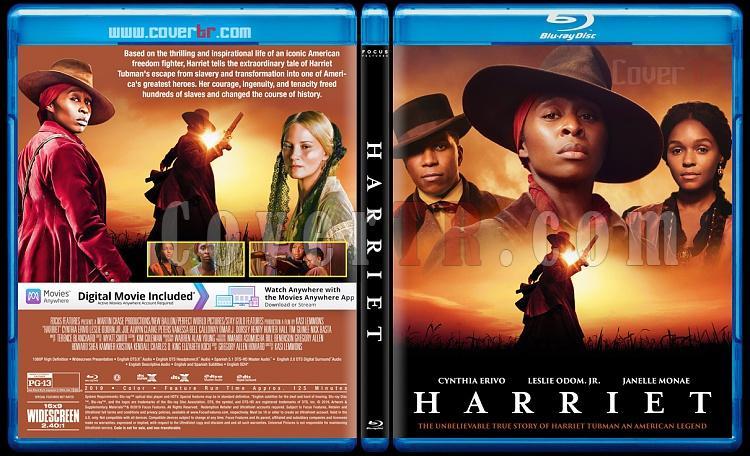 Harriet - Custom Bluray Cover - English [2019]-1jpg
