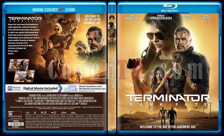 Terminator: Dark Fate (Terminator: Kara Kader) - Custom Bluray Cover - English [2019]-1jpg