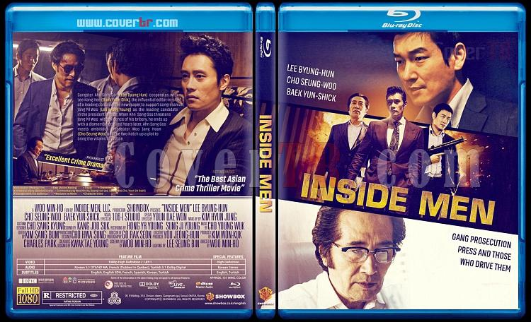 Inside Men-The Original (Nae-bu-ja-deul) - Custom Bluray Cover - English [2015]-inside-men-original-2015jpg