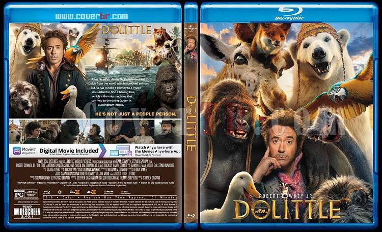 Dolittle - Custom Bluray Cover - English [2020]-1jpg