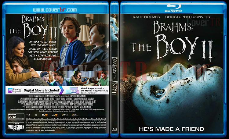 Brahms: The Boy II - Custom Bluray Cover - English [2019]-1jpg