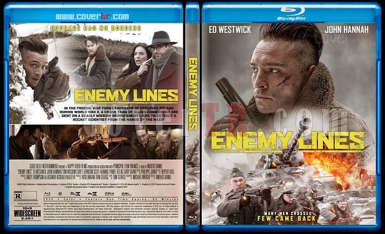 Enemy Lines - Custom Bluray Cover - English [2020]-2jpg