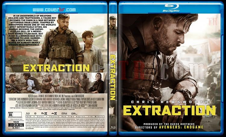 Extraction - Custom Bluray Cover - English [2020]-1jpg