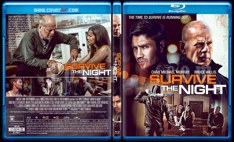 Survive the Night - Custom Bluray Cover - English [2020]-1jpg