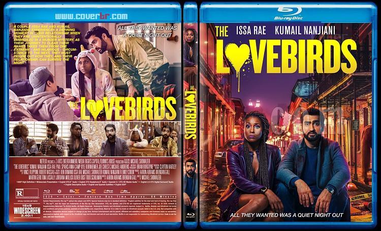 The Lovebirds - Custom Bluray Cover - English [2020]-2jpg