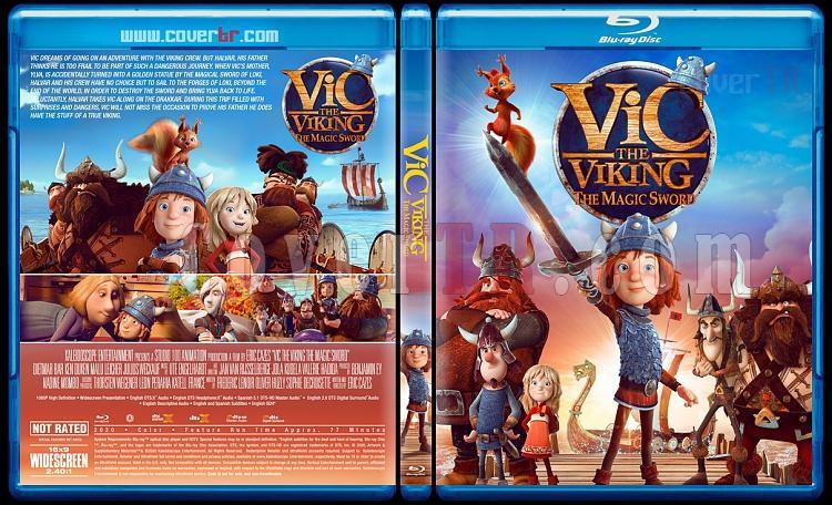 Vic the Viking and the Magic Sword (Vikingler: Büyük Macera) - Custom Bluray Cover - English [2020]-1jpg