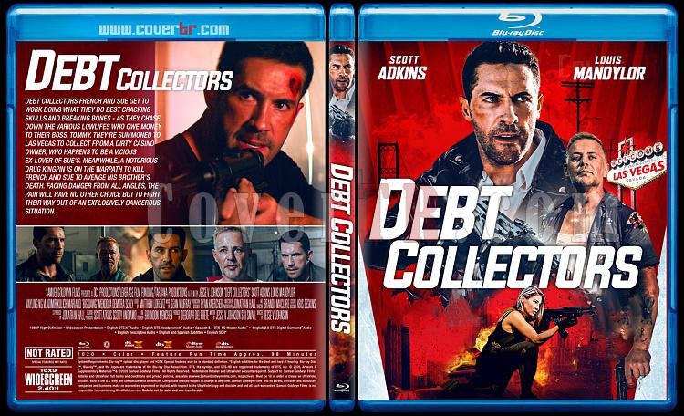 The Debt Collector 2 - Custom Bluray Cover - English [2020]-1jpg