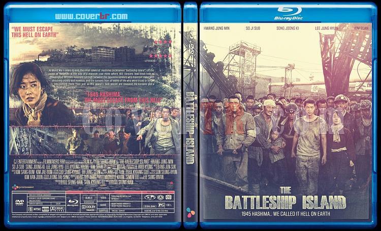 The Battleship Island  (Hashima Island) - Custom Bluray Cover - English [2017]-battleship-islandjpg