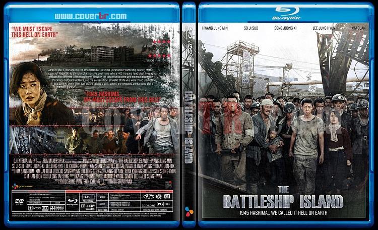 The Battleship Island  (Hashima Island) - Custom Bluray Cover - English [2017]-battleship-island-blackjpg