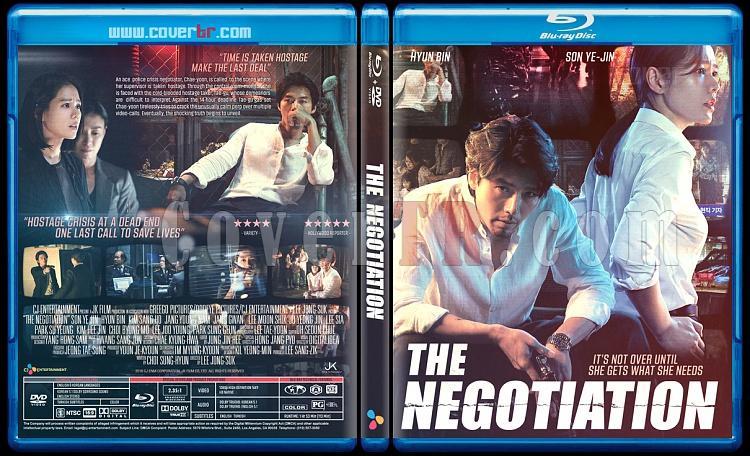 The Negotiation  (Hyeobsang) - Custom Bluray Cover - English [2018]-negotiationjpg