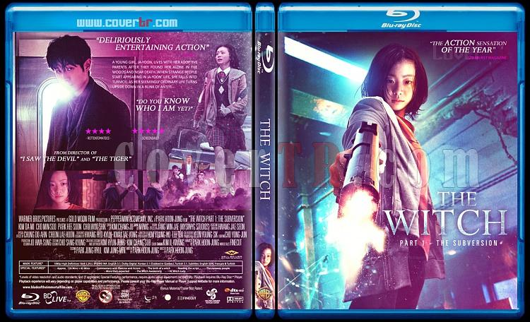The Witch - Part 1: The Subversion (Manyeo) - Custom Bluray Cover - English [2018]-witch-part-1-subversionjpg