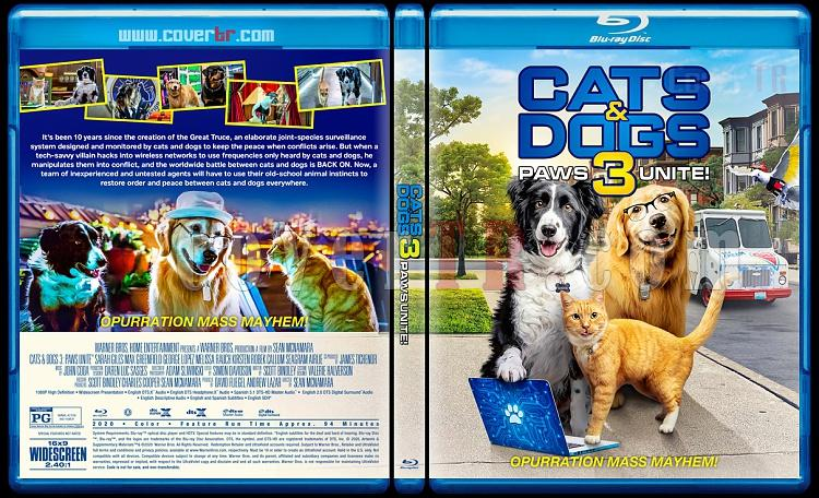Cats & Dogs 3: Paws Unite - Custom Bluray Cover - English [2020]-1jpg