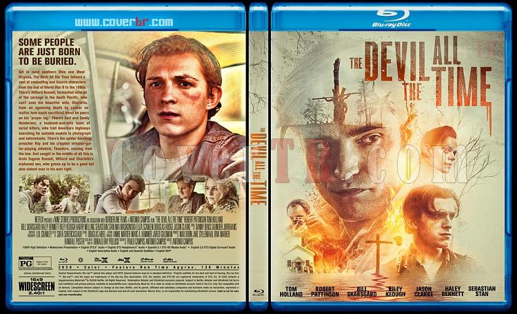 The Devil All the Time - Custom Bluray Cover - English [2020]-1jpg