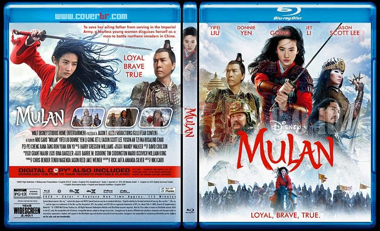 Mulan - Custom Bluray Cover - English [2020]-2jpg