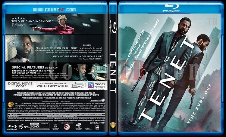 Tenet - Custom Bluray Cover - English [2020]-1jpg