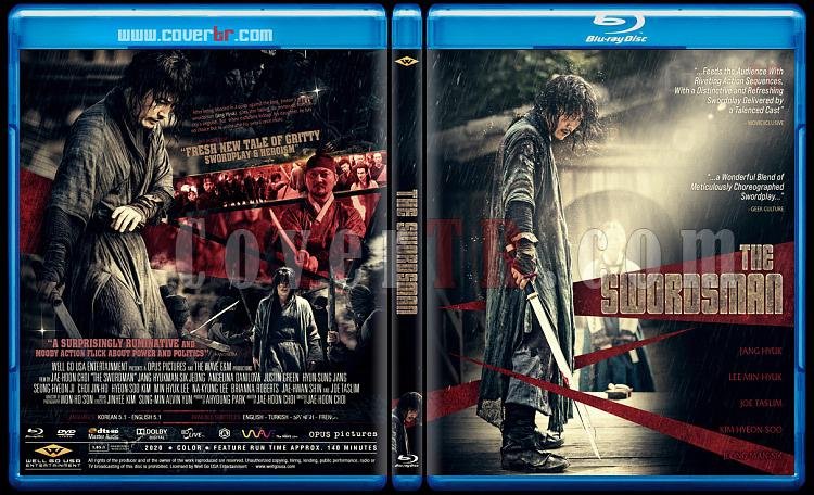 The Swordsman - Custom Bluray Cover - English [2020]-swordsmanjpg