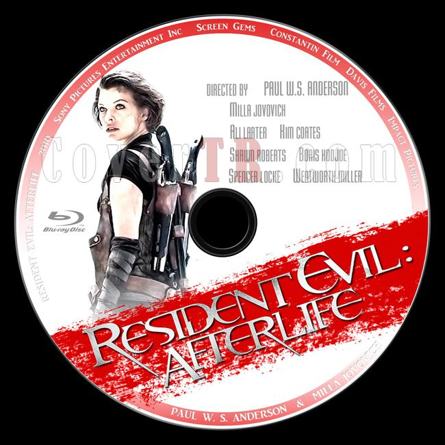 Resident Evil: Afterlife (Ölümcül Deney: Ölümden Sonra) - Custom Bluray Label - English [2010]-4jpg
