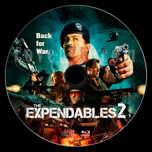 The Expendables 2 (Cehennem Melekleri 2) - Custom Bluray Label - English [2012]-1jpg