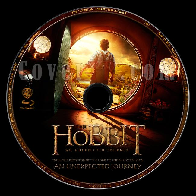 The Hobbit: An Unexpected Journey (Hobbit: Beklenmedik Yolculuk) - Custom Bluray Label - English [2012]-hobbit-unexpected-journey-hobbit-beklenmedik-yolculukjpg