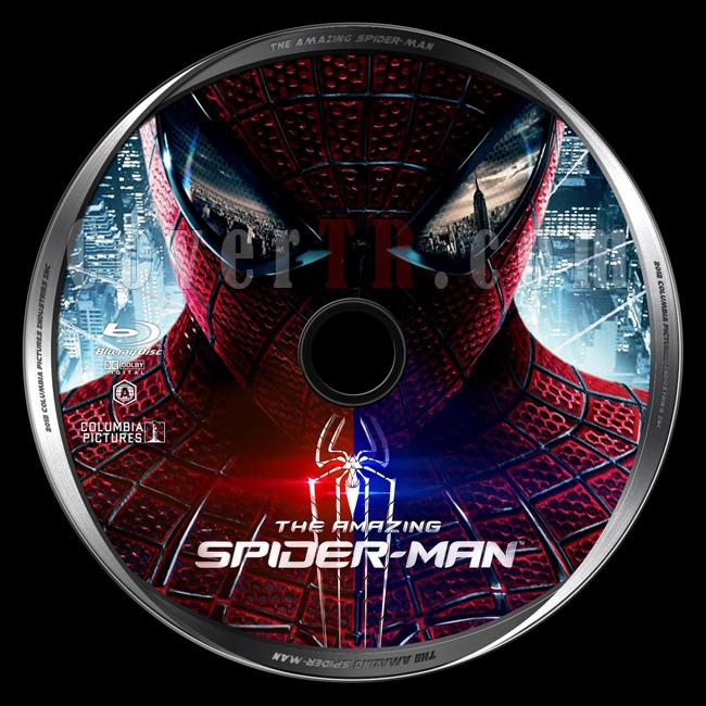 The Amazing Spider-Man (İnanılmaz Örümcek-Adam) - Custom Bluray Label - English [2012]-amazing-spider-man-inanilmaz-orumcek-adamjpg