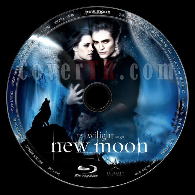 The Twilight Saga: New Moon (Alacakaranlık Efsanesi: Yeni Ay) - Custom Bluray Label - English [2009]-twilight-saga-new-moon-alacakaranlik-efsanesi-yeni-ayjpg