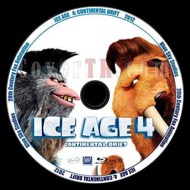 Ice Age: Continental Drift (Buz Devri 4: Kıtalar Ayrılıyor) - Custom Bluray Label - English [2012]-ice-age-continental-drift-buz-devri-4-kitalar-ayriliyorjpg