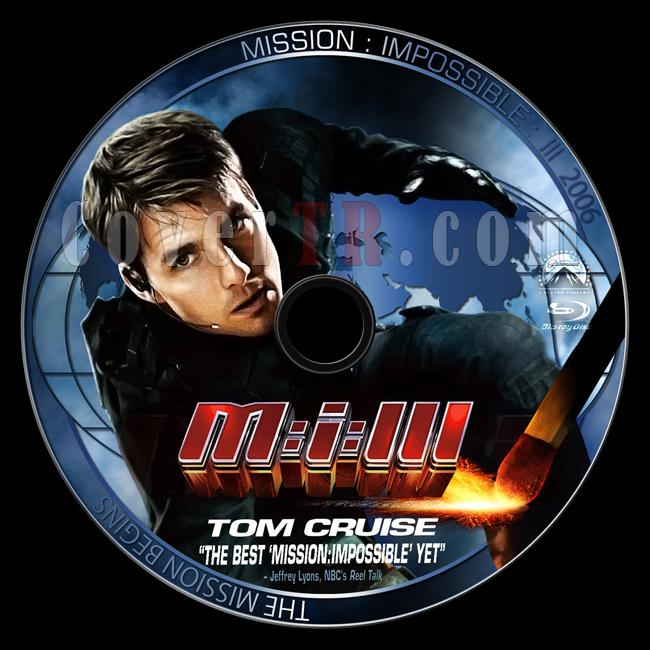 Mission: Impossible III  (Görevimiz Tehlike 3) - Custom Bluray Label - English [2006]-3jpg