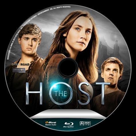 The Host (Göçebe) - Custom Bluray Label - English [2013]-host-bluray-labeljpg
