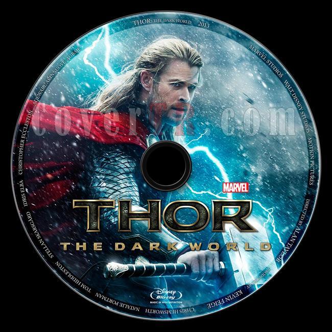 Thor: The Dark World (Thor: Karanlık Dünya) - Custom Bluray Label - English [2013]-thor-dark-world-thor-karanlik-dunyajpg