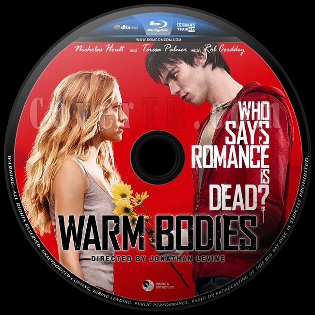 Warm Bodies (Sıcak Kalpler) - Custom Bluray Label - English [2013]-warjpg