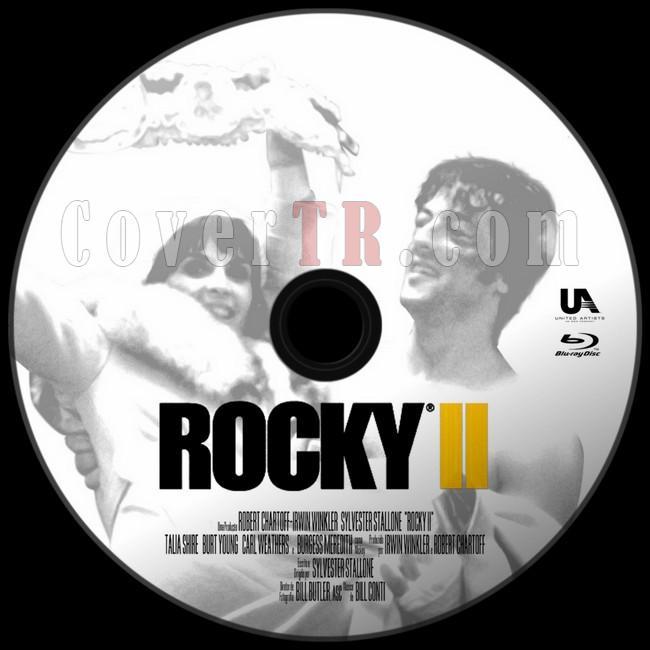 Rocky II (Rocky 2) - Custom Bluray Label - English [1979]-asdjpg