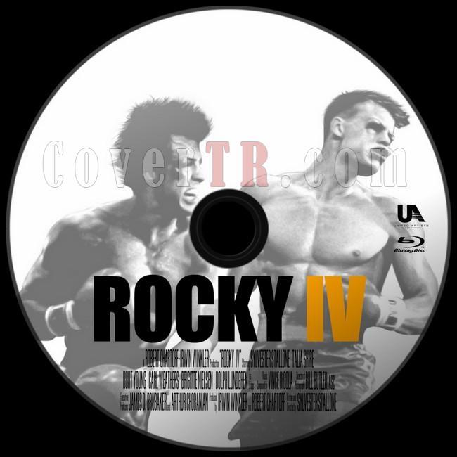 Rocky IV (Rocky 4) - Custom Bluray Label - English [1985]-asdjpg