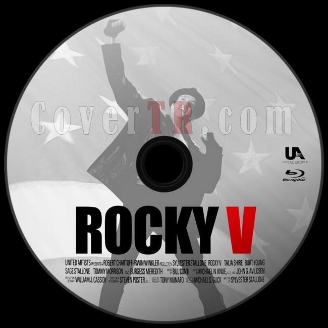 Rocky V (Rocky 5) - Custom Bluray Label - English [1990]-asdjpg