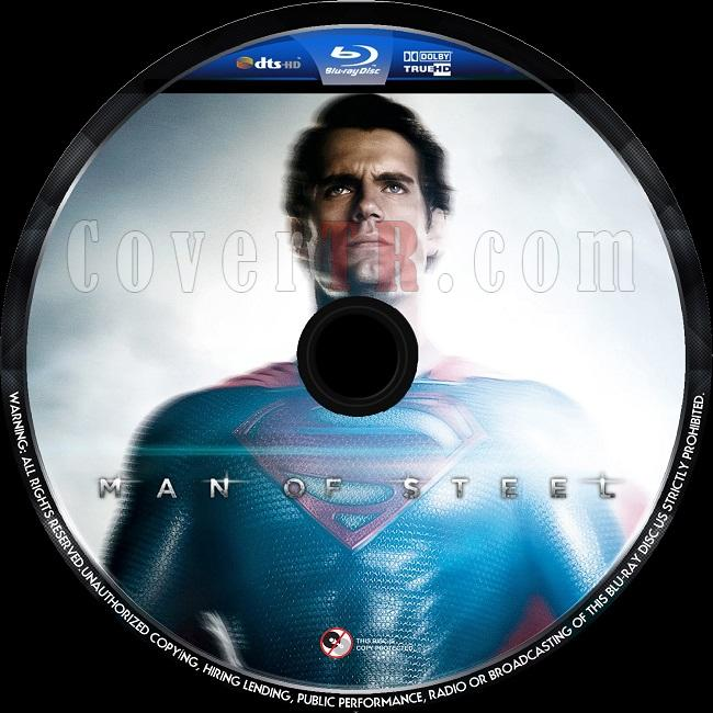 Man of Steel (Çelik Adam) - Custom Bluray Label - English [2013]-man-steel-1jpg