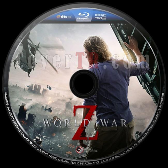 World War Z (Dünya Savaşı Z) - Custom Bluray Label - English [2013]-world-war-z-dunya-savasi-z-custom-bluray-label-english-2013jpg