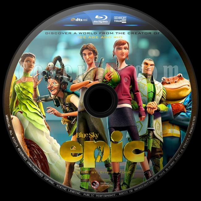 Epic (Doğal Kahramanlar)  - Custom Bluray Label - English [2013]-epic-2jpg