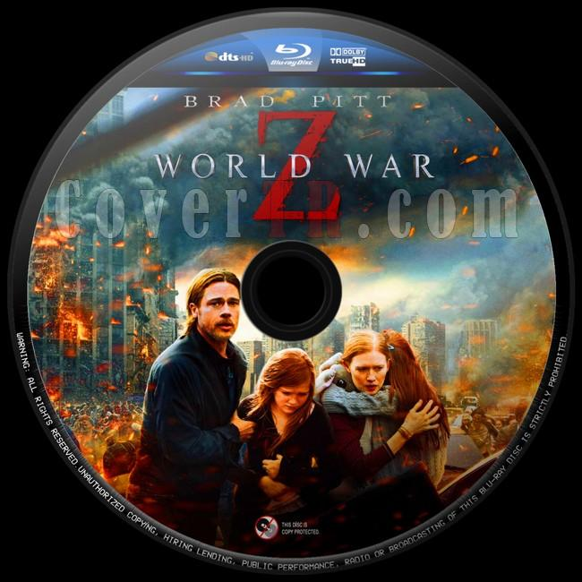 World War Z (Dünya Savaşı Z)  - Custom Bluray Label - English [2013]-dunya-savasi-z-4jpg