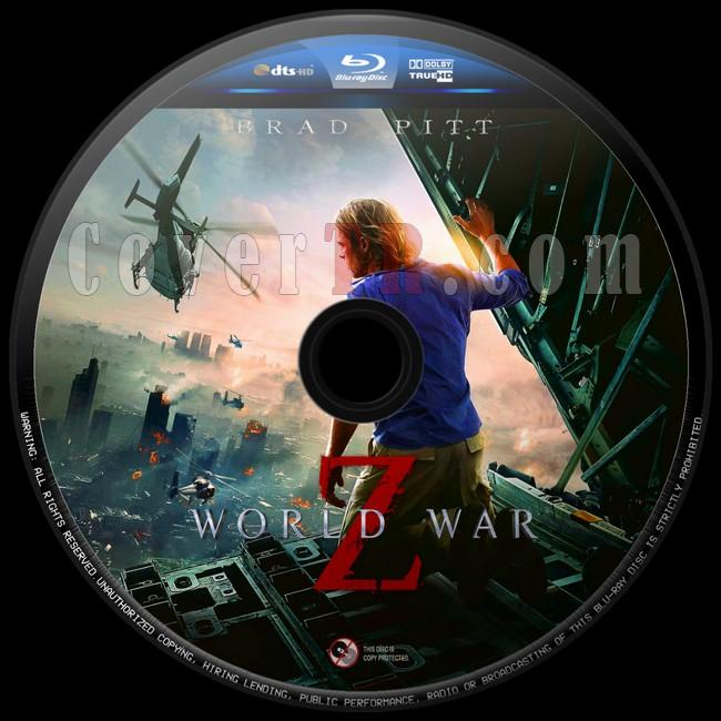 World War Z (Dünya Savaşı Z)  - Custom Bluray Label - English [2013]-dunya-savasi-z-6jpg