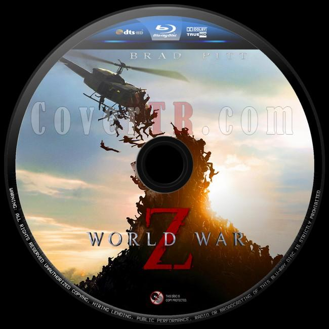 World War Z (Dünya Savaşı Z)  - Custom Bluray Label - English [2013]-dunya-savasi-z-8jpg