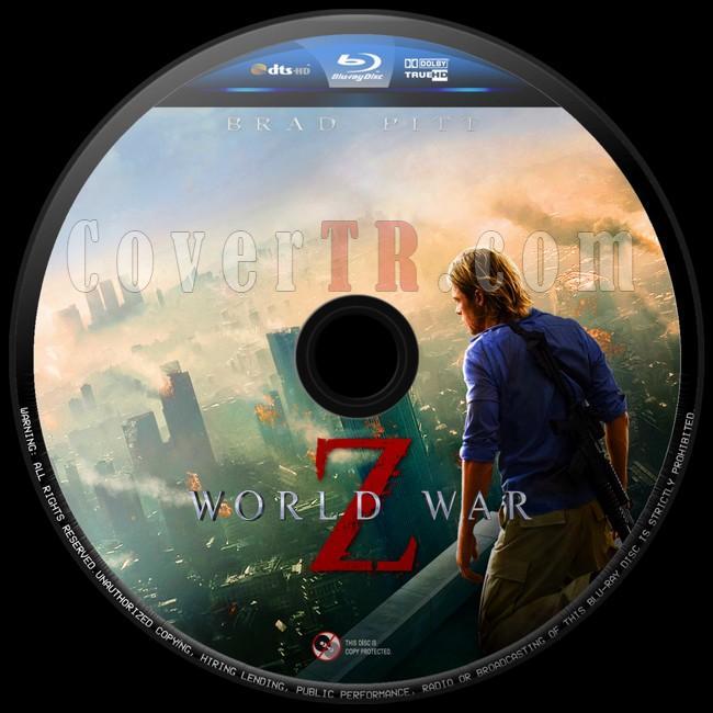 World War Z (Dünya Savaşı Z)  - Custom Bluray Label - English [2013]-dunya-savasi-z-10jpg