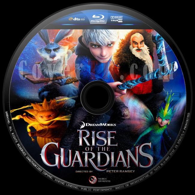 Rise of the Guardians (Efsane Beşli)  - Custom Bluray Label - English [2012]-efsane-besli-2jpg