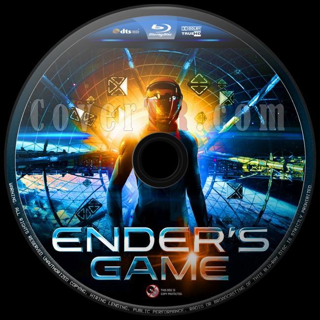 Ender's Game (Uzay Oyunları) - Custom Bluray Label - English [2013]-uzay-oyunlari-4jpg