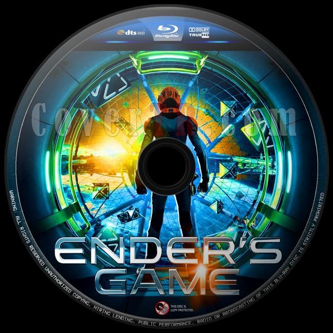 Ender's Game (Uzay Oyunları) - Custom Bluray Label - English [2013]-uzay-oyunlari-3jpg