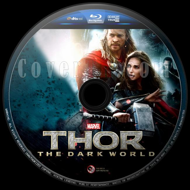 Thor: The Dark World (Thor: Karanlık Dünya) - Custom Bluray Label - English [2013]-thor-karanlik-dunya-14jpg