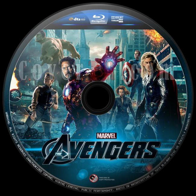 The Avengers (Yenilmezler) - Custom Bluray Label - English [2012]-yenilmezler-5jpg