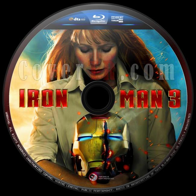 Iron Man 3 (Demir Adam3) - Custom Bluray Label - English [2013]-iron-man-3-9jpg