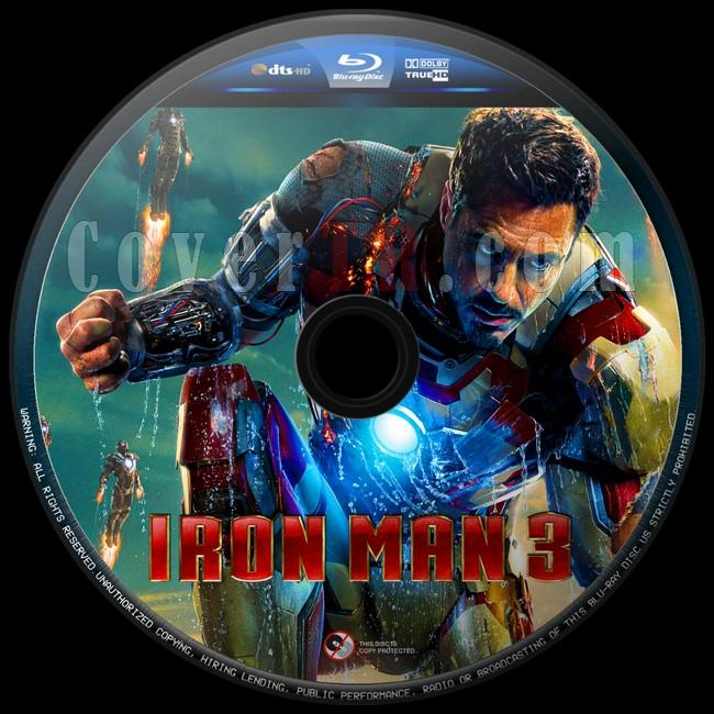 Iron Man 3 (Demir Adam3) - Custom Bluray Label - English [2013]-iron-man-3-8jpg