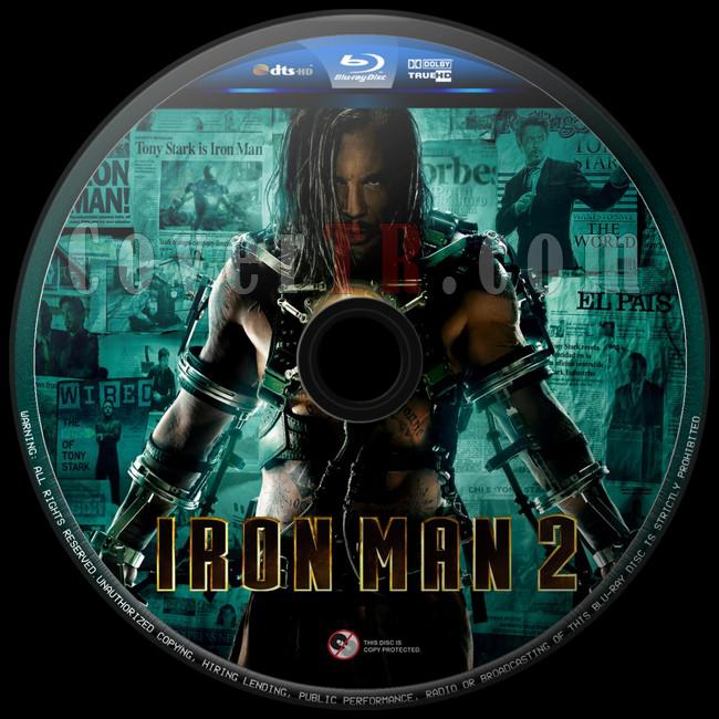 Iron Man 2 (Demir Adam 2) - Custom Bluray Label - English [2010]-iron-man-2-47jpg