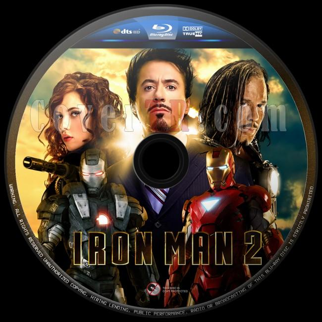 Iron Man 2 (Demir Adam 2) - Custom Bluray Label - English [2010]-iron-man-2-5jpg