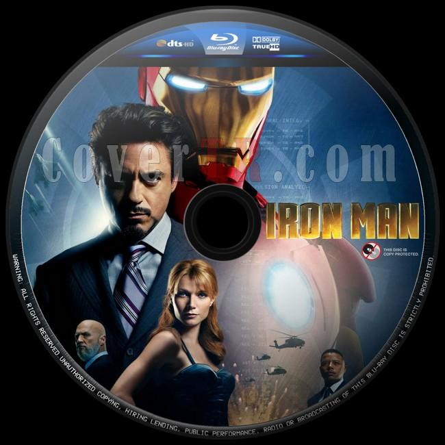 Iron Man (Demir Adam) - Custom Bluray Label - English [2008]-iron-man-1-3jpg